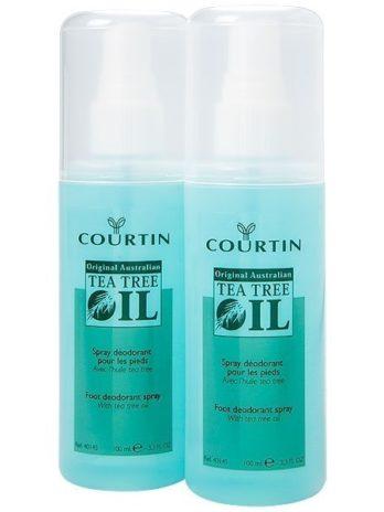 Courtin antiseptic lábizzadásgátló/szagtalanító spray